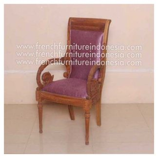 GIANNI ARIMBI ARM DINING CHAIR