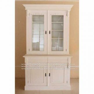 IBC 012 2D BOOKCASE WHITE MATT