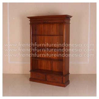 IBC 015 VICTORIAN OPEN FRONT BOOKCASE