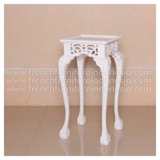 IMC 046 FLOWER TABLE WHITE COMPL