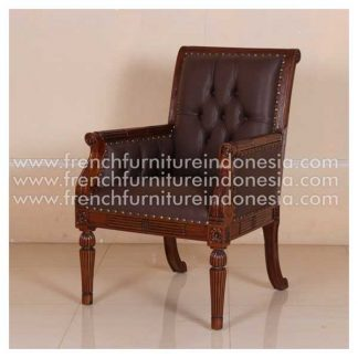 ISG 056 LIBRARY ARM CHAIR