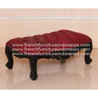 ISG 095 STOOL ONLY Black Kirei Red