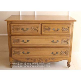 MOUSTIER CHEST EUROPEAN PINE WAX