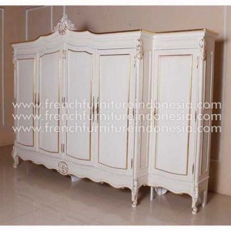 RAR 036 B WD 5D 5 Door French Armoire