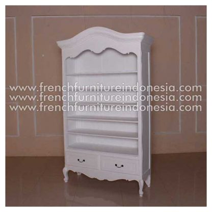 RBC 009 A FRENCH OPEN BOOKCASE MOD WITH DUTCH TOP