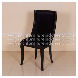 RCR 131 chair black semi gloss