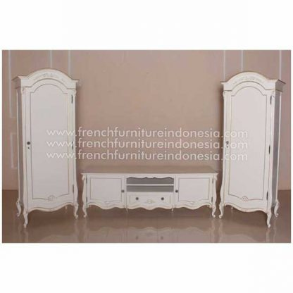 TV CABINET SET WITH WRADOBE