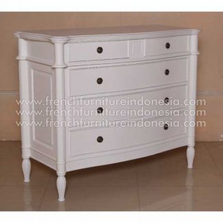 Yasmeen 5 Drawer Fitting Antique