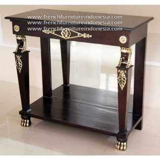 antique reproduction furniture Egyptian Console
