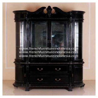 cabinet black semi glosh